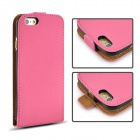 "Angibabe de protection Top Ouvrir rabat PU pour iPhone 6 4.7 ""- Deep Rose"