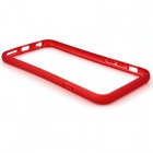 "PC de protection ultra-mince + TPU Bumper Case pour iPhone 6 4,7 ""- Rouge"