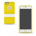"Angibabe Protective Aluminum Back Case w/ Stand for 4.7"" IPHONE 6 - Yellow"
