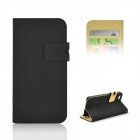 "Angibabe Matte Protective PU Case w/ Stand / Card Slot for IPHONE 6 4.7"" - Black"