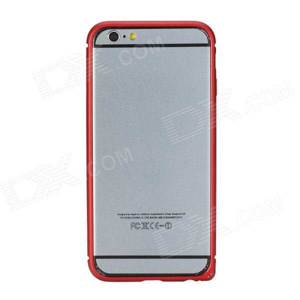 купить ROCK Aluminum Alloy Protective Bumper Frame Case for 4.7 IPhone 6 - Red онлайн