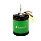 X-TEAM XTO-T500 1500KV Outrunner Brushless Motor for T500 Helicopter - Green