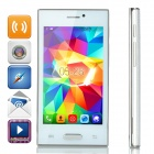 "Z9005 Android 4.4 Dual-core WCDMA Bar Phone w/ 4.0"" Screen, Wi-Fi and Bluetooth - White"