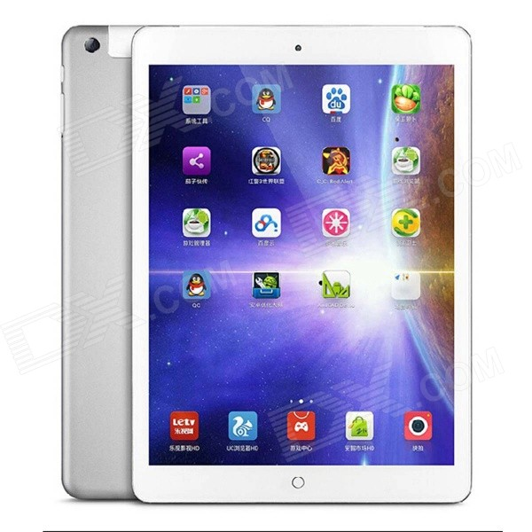 "ONDA V919 9,7 ""IPS Quad-Core MTK8382 Android 4.2.2 3G telefoon Tablet PC w / GPS, Wi-Fi - Zilver"
