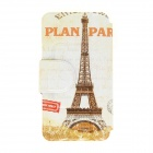 Kinston Eiffel Tower Pattern PU Leather + Plastic Flip Open Case w/ Stand for IPHONE 6 4.7""