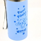 Puppy Pattern Stainless Steel Vacuum Flask / Bottle - Blue (500ml)