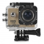 "SJ4000 Wi-Fi 360 Degree Rotation HD 1080P 1.5"" TFT 12MP Wide Angle Sport Camera Camcorder - Gold"