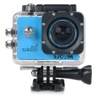 "SJCAM SJ4000 Wi-Fi 1.5"" TFT 1080P HD 2/3"" CMOS 12MP Outdoor Sport Camera w/ Waterproof Case - Blue"