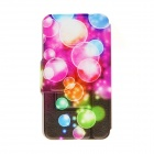 "Kinston KST91683 Colorful Bubble Pattern Leather Case w/ Stand for IPHONE 6 4.7"" - Multicolored"