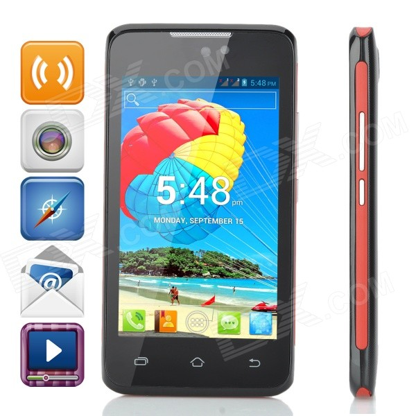 H-mobile F2 Android 4.2 GSM Dual-core Bar Phone w/ 4.0