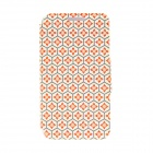 "Kinston Honeycomb Lattice Pattern PU Leather + Plastic Flip Open Case w/ Stand 4.7"" IPHONE 6"