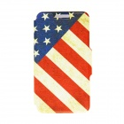 "Kinston KST91704 Nostalgic US Flag Pattern Leather Case w/ Stand for IPHONE 6 4.7"" - Multicolored"
