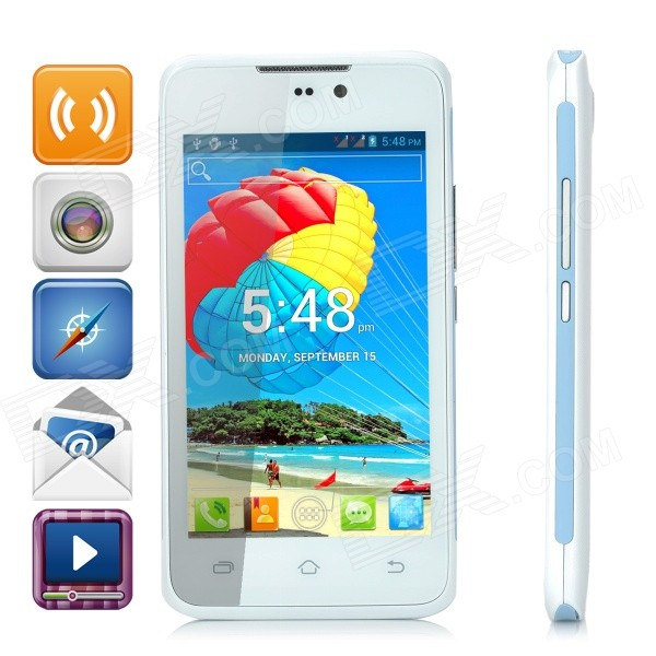 H-mobile F2 Android 4.2 Dual-core GSM Bar Phone w/ 4.0
