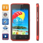 "H-mobile F2 Android 4.2 Dual-core GSM Bar Phone w/ 4.0"" Screen, Wi-Fi and Quad-band - Red"