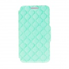 Kinston Green Grid Pattern PU Leather Full Body Case with Stand for IPHONE 6 4.7 inch