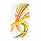 "Kinston Tulevaisuuden Road Pattern PU Leather Full Body Case w / Stand iPhone 6 4,7 ""- Multicolored"