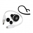 ZY Mini Bluetooth V3.0 In-Ear Headset - negro