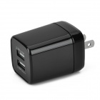 Z02 Smart Quick-charge Double USB AC Adapter (US Plug)