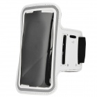 "Protective Multispandex Armband for IPHONE 6 4.7"" - White + Black"
