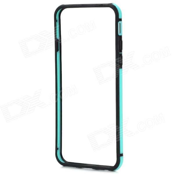 Ultra-thin Protective ABS Bumper Frame Case for IPHONE 6 4.7 - Light Blue + Black slim clear cover for samsung galaxy s6 edge blue