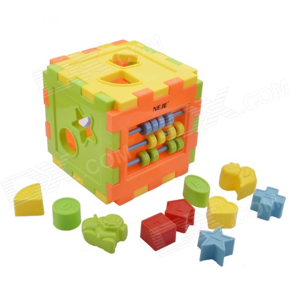 NEJE ST0005-1 DIY Educational Building Block Toy Model Building Kit - Multicolored