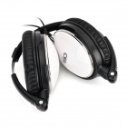 ChiSheng CS-ANC1 3.5mm Active Noise Canceling Headband Headphone - Black + White