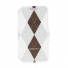 Kinston Rhombus Pattern PU Leather Full Body Case with Stand for IPHONE 6 4.7 inch