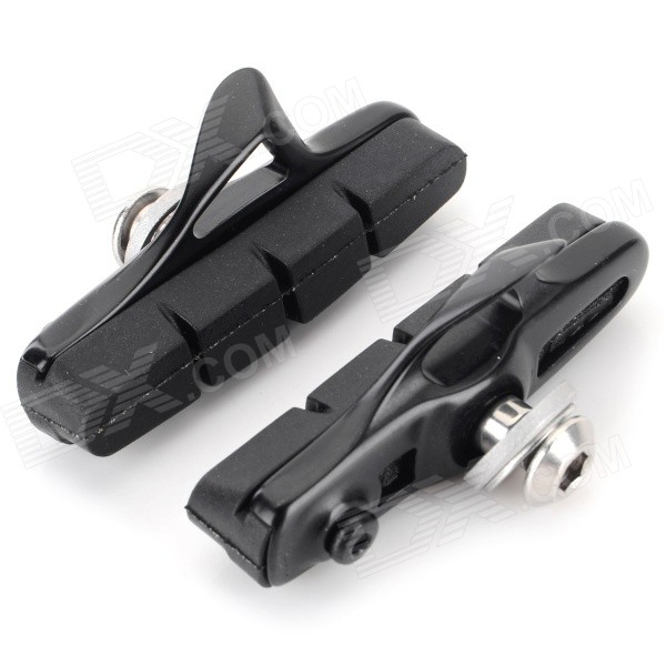 WARDER WBP-14 Replacement DIY Rim Brake Pad for Bicycle - Black (Pair) for honda cb600f cb900f hornet cb1000r motorcycle upgrade front brake system radial brake master cylinder