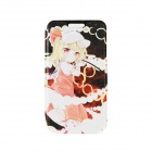 "Kinston KST91749 Anime Girl Pattern Leather Case w/ Stand for 4.7"" IPHONE 6 - Pink + Multicolored"