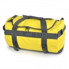LOCAL LION Multifunctional Outdoor Sports Travel Gym Barrel Bag - Yellow