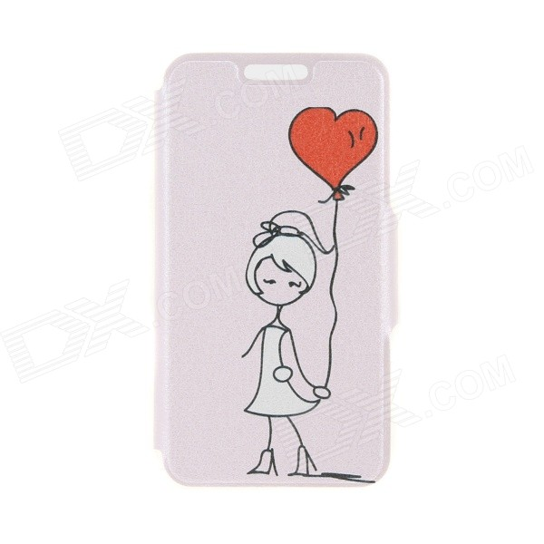 "Kinston Balloon Pattern PU Leather Full Body Case w/ Card Slot for 4.7"" IPHONE 6"