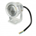 JRLED JRLED-10W-WW impermeable 10W 600lm 3200K LED Spotlight Blanco Cálido - Plata (AC 85 ~ 265V)