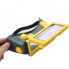 NEJE ABS + Rubber Solar Auto Darkening LCD Welding Helmet - Green + Yellow