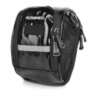 ROSWHEEL Bike Bicycle PU Handlebar Bag / Single-Shoulder Bag - Black
