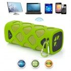 VINA Portable Outdoor Wireless Bluetooth v4.0 NFC Mini Speaker for IPHONE / Tablet - Grass Green