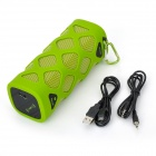 VINA v4.0 aire libre Bluetooth Wireless Portable Mini Speaker NFC para IPHONE / Tablet - Hierba Verde