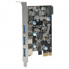 ULANSON PCI-E USB 3.0 3-Port Expansion Card
