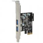 ULANSON PCI-E USB 3.0 2-Port Solid State Expansion Card