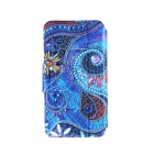 "Kinston Art Spiral Pattern PU Leather + Plastic Full Body Case w/ Card Slot for 4.7"" IPHONE 6"