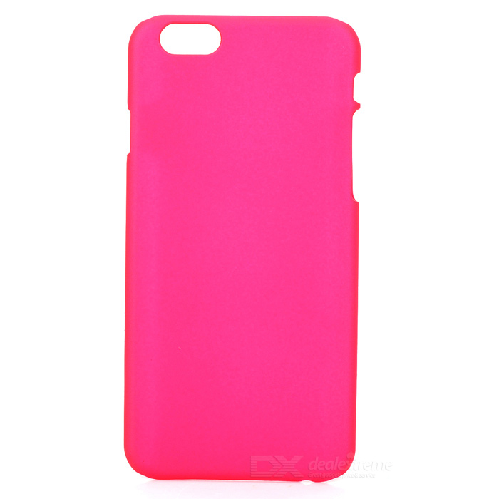 Protective PC Hard Back Case Cover for IPHONE 6 4.7'' - Deep Pink sweet bowknot pattern hard back cover pc case for iphone 6 translucent pink