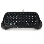 DOBE TP4-008 Bluetooth V3.0 47-Key Keyboard for PS4 Controller - Black + White