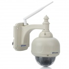 SunEyes SP-TM06WP 720P HD Wireless PTZ Outdoor Dome IP Camera w/ TF, IR-Cut, Motion Detection