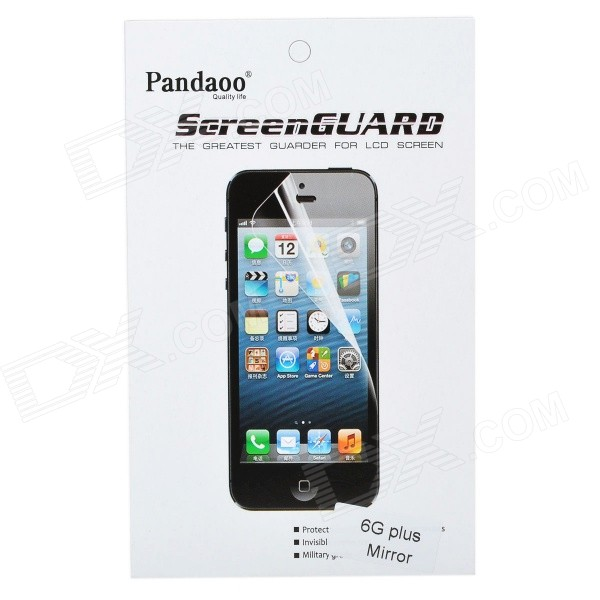"Pandaoo Mirror PET Screen Protector for IPHONE 6 PLUS 5.5"" - Transparent"