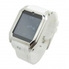 "TW206B Bluetooth V3.0 Partner GSM Watch Phone w/ 1.54"" Resistive Screen, Quad-band - White"