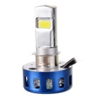 IN-Color Universal H6 / H4 15W 960LM 6000K White Light COB LED Motorcycle Headlamp (9~15V)