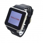 "TW208B Bluetooth V3.0 Partner GSM Watch Phone w/ 1.54"" Resistive Screen, Quad-band - Black"