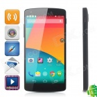 "LG Nexus 5 Android 4.4 Quad-core WCDMA Bar Phone w/ 4.95"" Screen, Wi-Fi, 2GB, 16GB - Dark Grey"