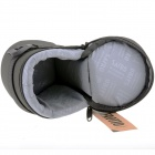 E20 Universal Thickened Protective Nylon Camera Lens Case Pouch - Black