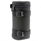 E13 Universal Thickened Protective Nylon Camera Lens Case Pouch - Black