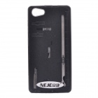 NEJE SZ0022-2 Multi-functional Plastic + Aluminum Alloy Knife Back Case for IPHONE 5 / 5S - Black